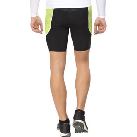 arena Tri Shorts ST Men, black/pea green